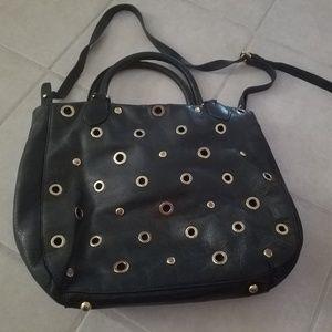 J. Crew genuine leather handbag